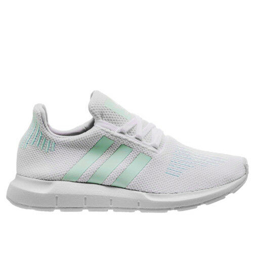 f399dd2daad Details about Adidas Originals Swift Run Womens Lace Up Trainers White  CG4138 M7