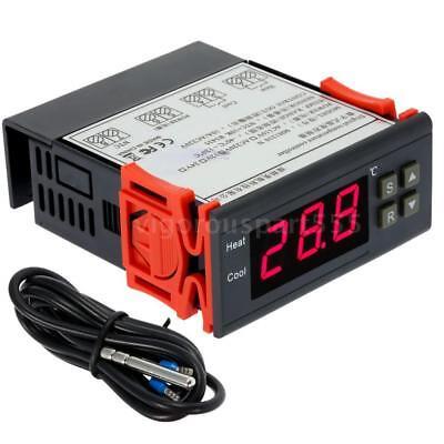 MH1210N AC 220V 10A Digital LCD Temperaturregler Thermostat Temperatur Regler