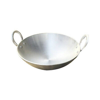 Aluminum Cooking Kadai For Gravy|Vegetable Dishes With Handles Karai Skillet  for sale  Shipping to United States