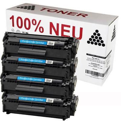 4 X Neue Toner (4x TONER PATRONE 100% NEU für TELEKOM FAX 900)