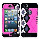 Pink Plaid iPhone 5 Case