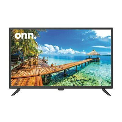 "onn. 32"" 720p High Definition LED TV/Monitor (100002458) 3 HDMI Ports W Remote"