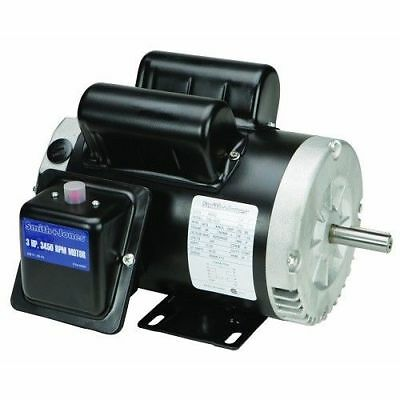 3 Hp Electric Compressor Heavy Duty Motor Reversible Open Drip Single Phase New