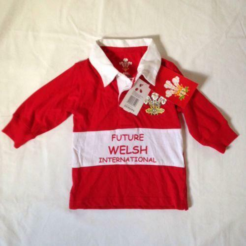 Baby Welsh Rugby Shirt Ebay