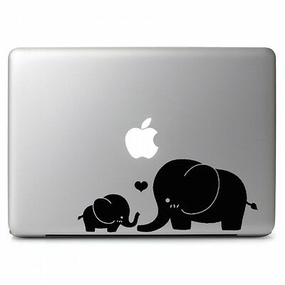 Two Elephants Vinyl Sticker Skin Decal for Macbook Air & Pro 11'' 13'' 15'' 17''