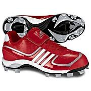 Red Softball Cleats