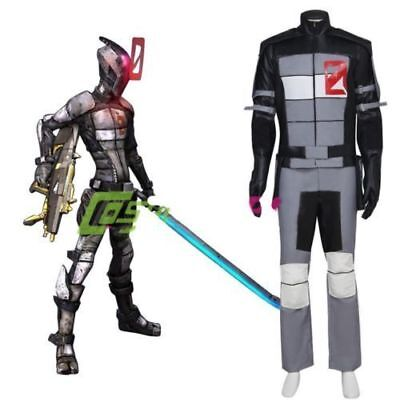 Borderlands 2 Zero Cosplay Costume Adult Men's Halloween Carnival Costume  (Borderlands 2 Halloween)