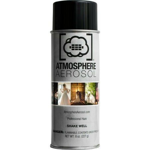 Atmosphere Aerosol 8oz Haze/Fog Spray for Photographers and Filmmakers