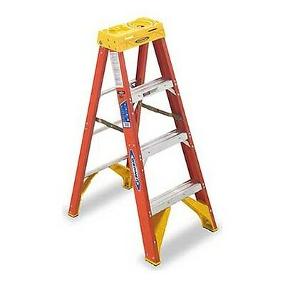 6204 4 Foot Fiberglass Step Ladder By Werner Ladder