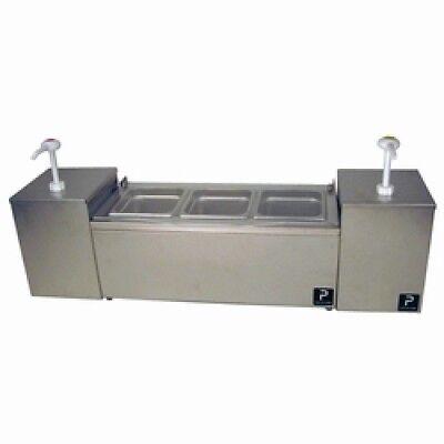 Pro Series Condiment Server Set w/2  , dispenser, ketchup dispenser, paragon usa