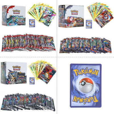 324pcs Pokemon GX TCG Booster Box Englisch Edition SUN & MOON Karten