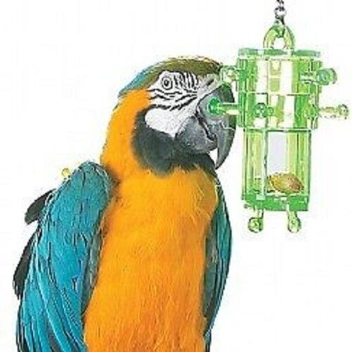 Snack rack - multi level foraging puzzle parrot toy