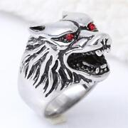 Mens Animal Rings