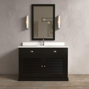 """Single Bathroom Vanity 48"""" with or without Countertop"""