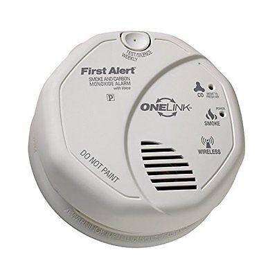 First Alert SCO500B OLCOMBOV Wireless Interconnect Smoke and Carbon Monoxide Com