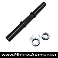 Olympic Fat Grip Dumbbell Handle – 20 Inches – New