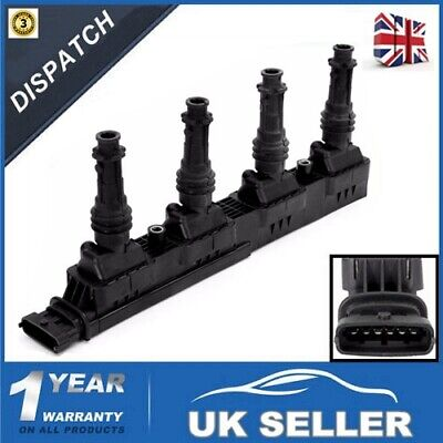FOR Vauxhall AGILA FOR ASTRA CORSA MERIVA TIGRA IGNITION MODULE /COIL PACK 6 PIN