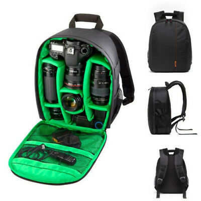 Купить Waterproof DSLR Camera Backpack Shoulder Bag Case For Canon For Nikon For Sony