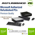 Refurbished PCs and Electronics
