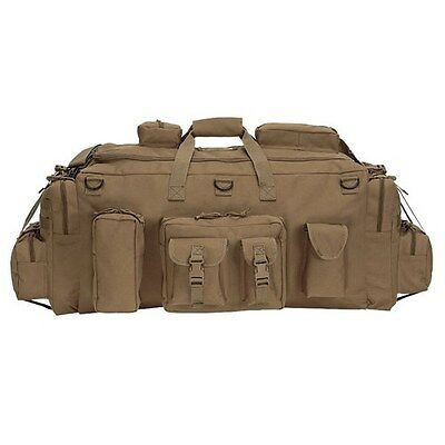 NEW! Voodoo Tactical Mojo Load-Out Bag with Backpack Straps Coyote 15-968507000