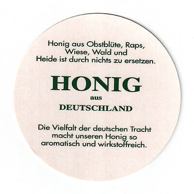 """Deckeleinlagen """"Honig aus Deutschland"""" für 82mm-Deckel • 500 Stück • Imkerei"""
