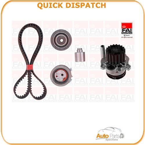 TIMING BELT KIT AND WATER PUMP FOR SEAT ALTEA 2 10/06- 2038 TBK485-633516