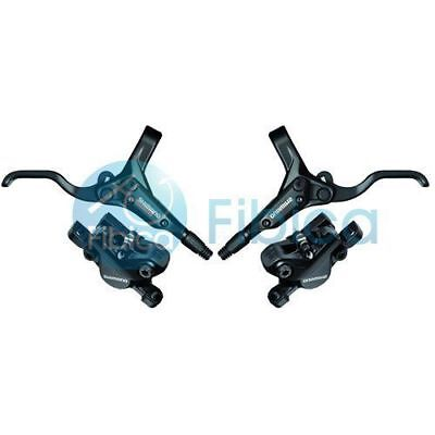 shimano Hydraulic Disc Brake Set Front and Rear BR-BL-M395 BL-M396