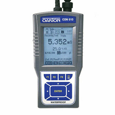 Oakton Wd-35408-12 Con 610 Conductivitytdspsures Meter Only