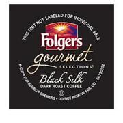 Folgers Black Silk K Cups
