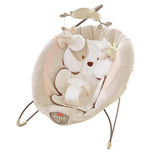 FISHER PRICE DELUXE SNUGGAPUPPY BOUNCER - EXCELLENT CONDITION!