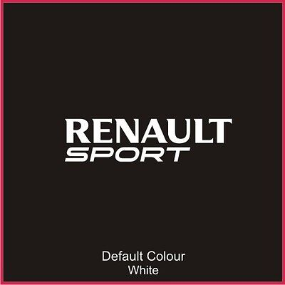 Renaultsport Clio Steering Wheel Decal, New Style Sticker, 172, 182, N2057
