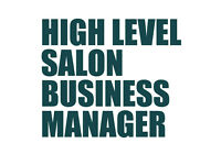 High level beauty salon business manager - excellent salary