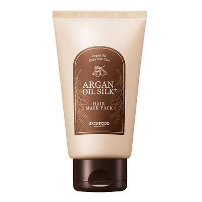 SKINFOOD Argan Oil Silk Plus Hair Mask Pack 200g8