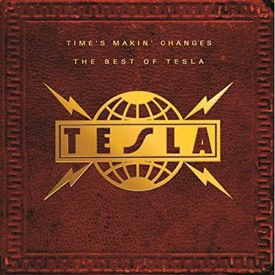 Time's Makin Changes: The Best of Tesla (CD, Nov-1995, Geffen) *NEW* *FREE Ship*