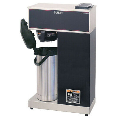 Bunn 33200.0014 Vpr-aps Pourover Airpot Coffee Brewer Stainless Black Finish
