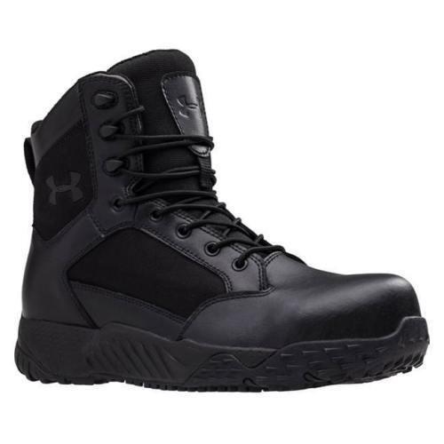 Under Armour 1276375 UA Mens Stellar TAC Protect Tactical Boots Black