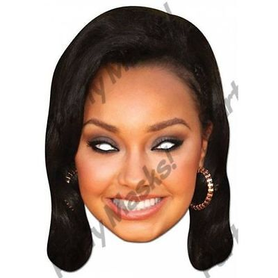 Little Mix Leigh-Anne Pinock Face Mask Costume Halloween Party Masquerade NEW