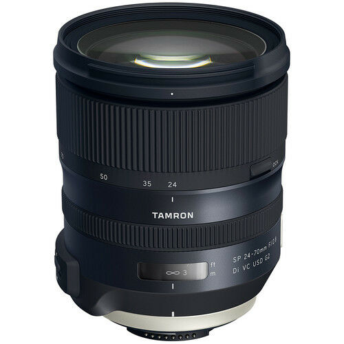 Tamron SP 24-70mm F/2.8 Di VC USD G2 Zoom Lens for Canon DSLR cameras AFA032C700