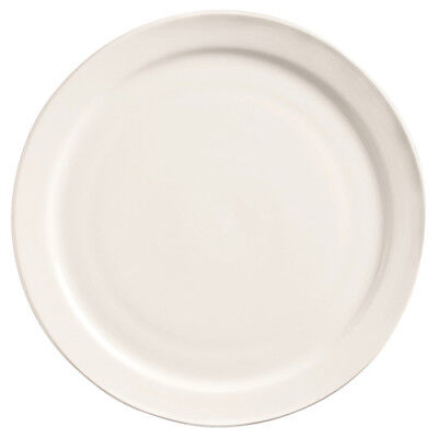 World Tableware Classic Plain Bright White China - Plate 7-18diam. Narrow Rim