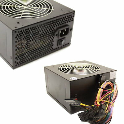 450 Watt 450W 120mm Fan ATX SATA POWER SUPPLY for Intel AMD Desktop PC PSU Unit