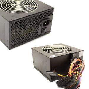 450 watt 450w 120mm fan atx sata power supply for intel amd desktop pc psu unit. Black Bedroom Furniture Sets. Home Design Ideas