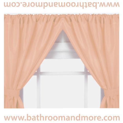 Peach Curtains | eBay