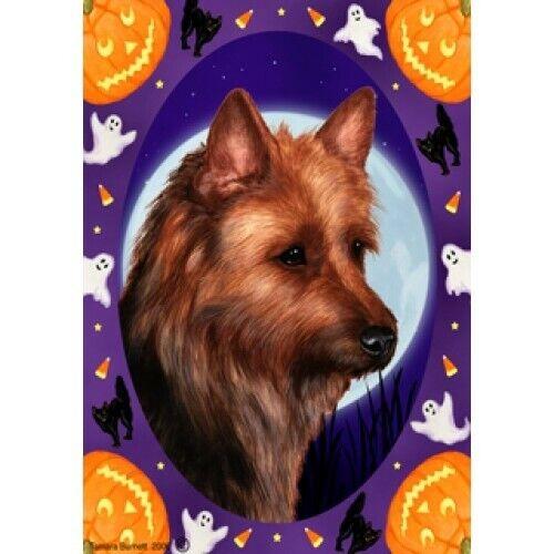 Halloween Garden Flag - Australian Terrier 122031