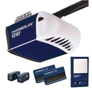 1 2 Hp Chain Drive Garage Door Opener