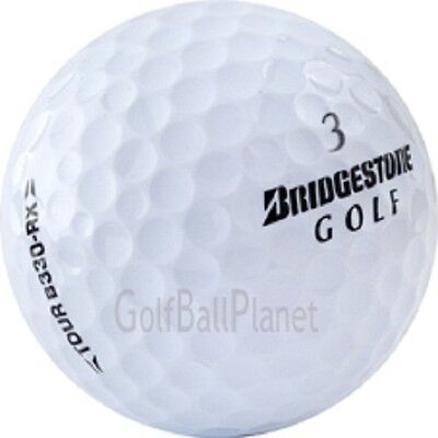B330 Mint - 50 Near Mint Bridgestone B330RX Used Golf Balls AAAA + Free Tees