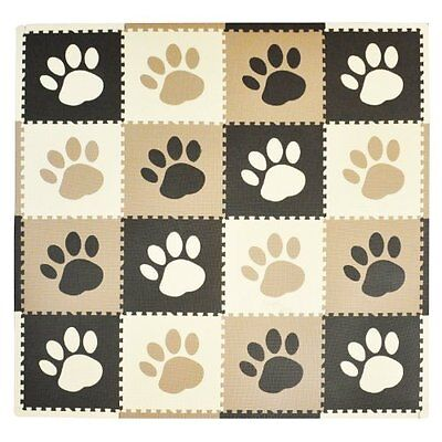 Baby Foam Floor Play Mat Child Activity Gym Soft Kid Eductaional Toy Pawprint
