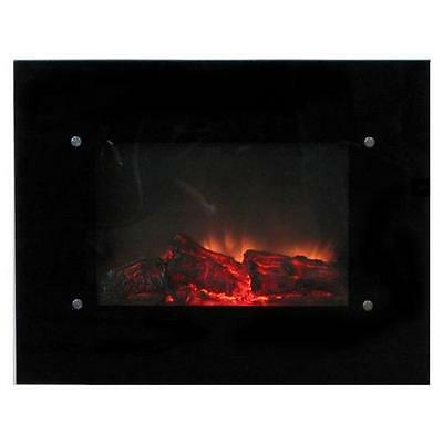 30 Wallmount Electric Fireplace With Remote Compare To 350 Free Shipping Ebay