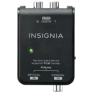 Insignia Optical/Coaxial Digital-to-Analog Converter (NS-HZ313-C