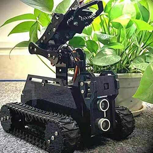 DIY Robot Model Kit for Raspberry Pi 4/3 Model B+/B WiFi Wireless Smart Robot