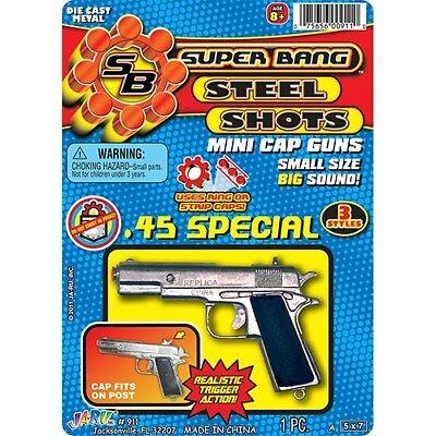 Super Bang Steel Shots Mini 1911 Cap Gun